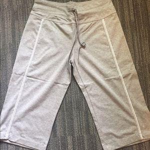 Danskin Gray Bermuda Shorts, NWOT, Size Small